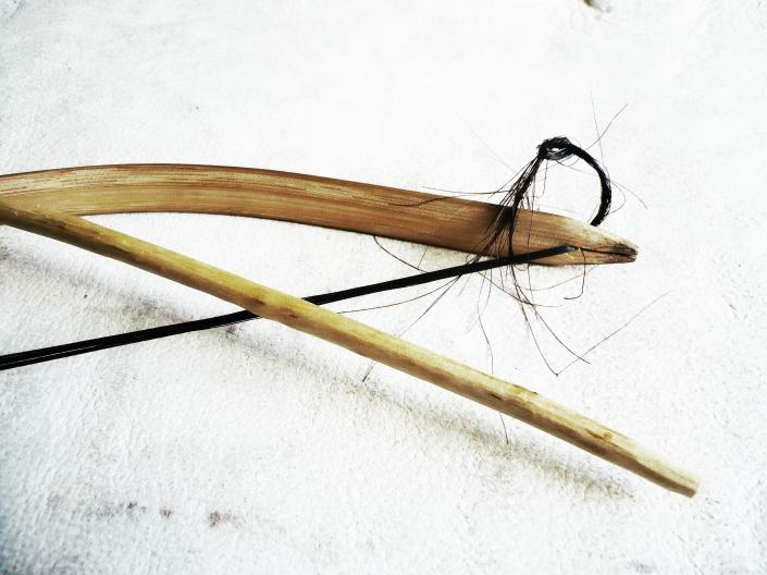 Foto 04. Detalle de arco latajkiaswolé de los Wichi. Edgardo Civallero